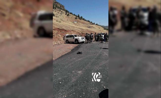 Irak'ta Türk Askeri Araca Bombalı Saldırı