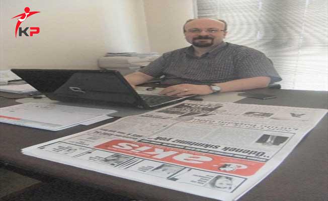 Kütahya'da Akis Gazetesi Sahibi Alaaddin Alkaşoğlu'na FETÖ'den Gözaltı