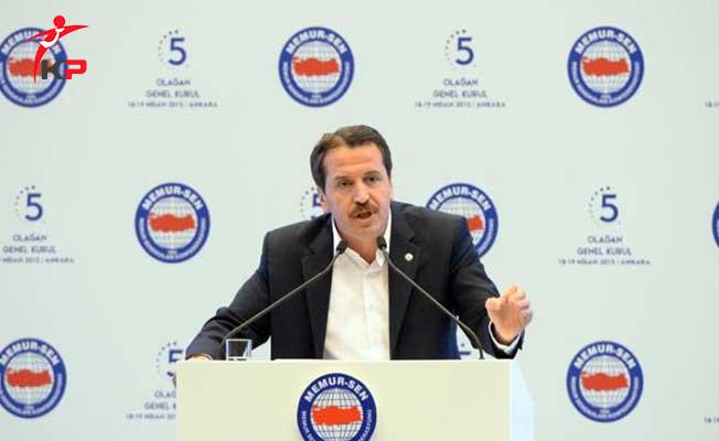 Memur Sen Genel Başkanı Ali Yalçın'dan Çok Önemli Toplu Sözleşme ve Kadro Açıklaması