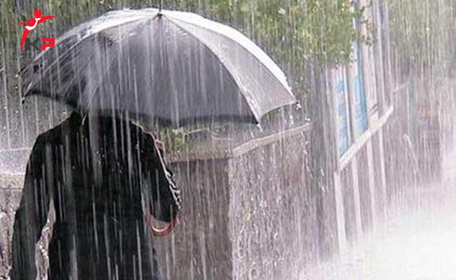Meteorolojiden 7 İl İçin Kuvvetli Yağış Uyarısı Geldi ! İl İl Saat Verdi...