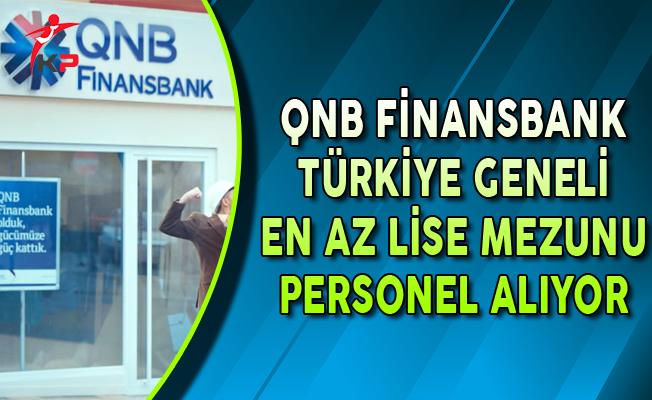 QNB Finansbank Bireysel Satış Temsilcisi Personel Alımları Yapıyor