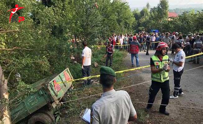 Traktör Kazasında Hayatını Kaybedenlerin Kimlikleri Belli Oldu