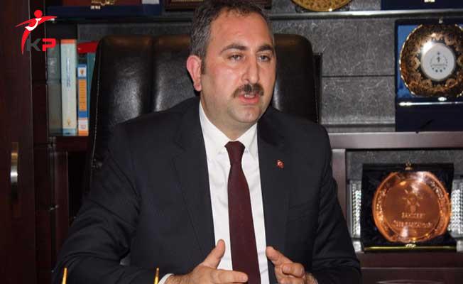 Adalet Bakanı Gül'den Mahkemelerin Dosya Yüküne İlişkin Önemli Açıklama !