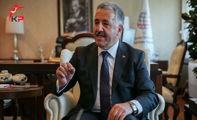 Bakan Arslan'dan Gezi Olayları Anımsatması! '' Karşı Çıkanlar Dış Güçlerin Ağzıyla Konuşanlardı''