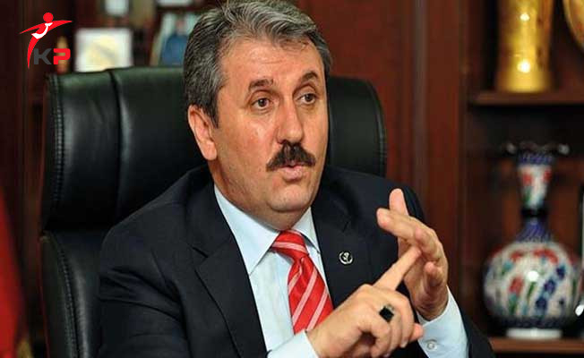 BBP Genel Başkanı Destici: Türkiye'nin Onaylamadığı Hiçbir Şey Olmaz