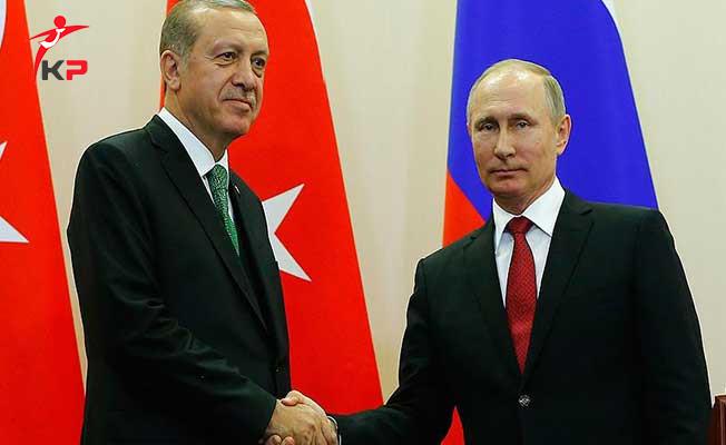 Cumhurbaşkanı Erdoğan ve Rusya Devlet Başkanı Putin IKBY Referandumunu Görüştü