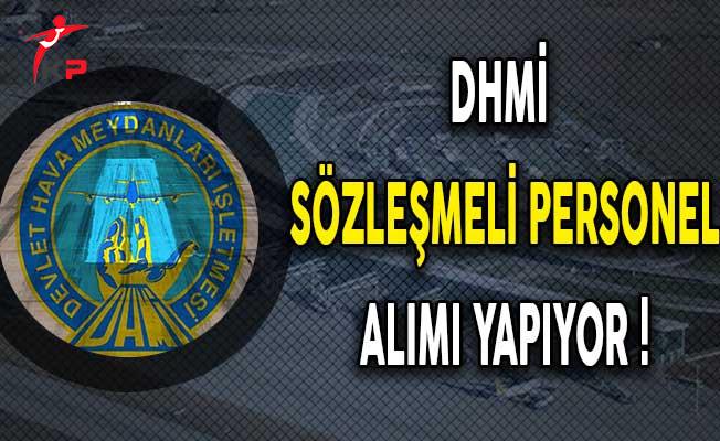 Devlet Hava Meydanları İşletmesi (DHMİ) Sözleşmeli Personel Alıyor !