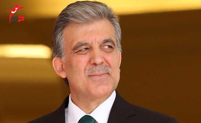 Eski Cumhurbaşkanı Abdullah Gül'den Irak Açıklaması!