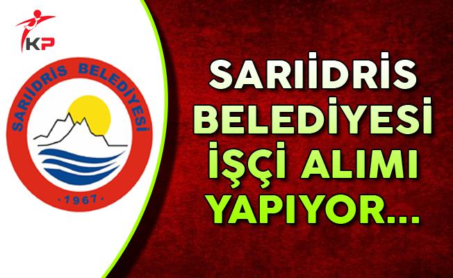 Isparta Sarıidris Belediyesi İşçi Alımı Yapıyor