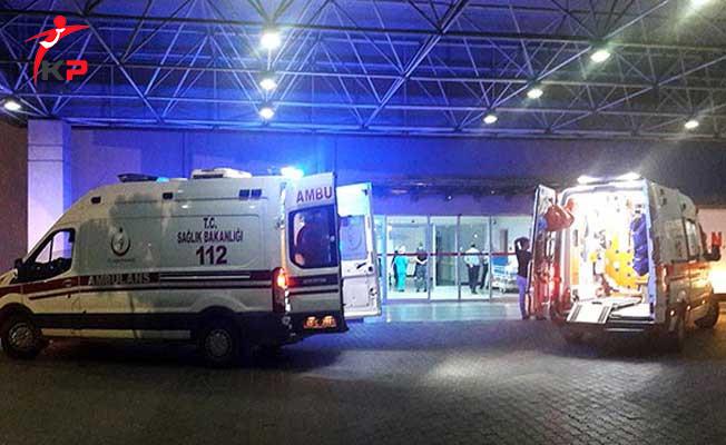 İzmir'de Otomobile Tüfekle Saldırı ! Ölü ve Yaralı Var