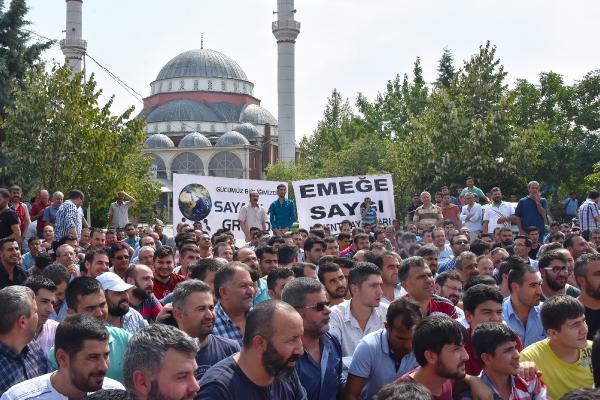 Konya'da Kayıt Dışı Çalışan Sayacılardan İş Bırakma Eylemi