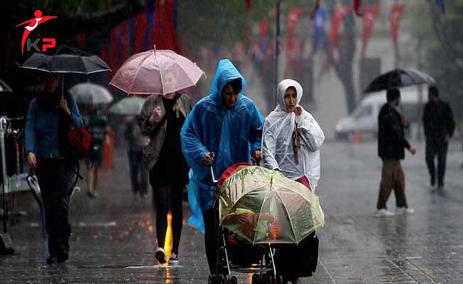 Meteoroloji Uyardı!Kuvvetli Yağışlar Geliyor