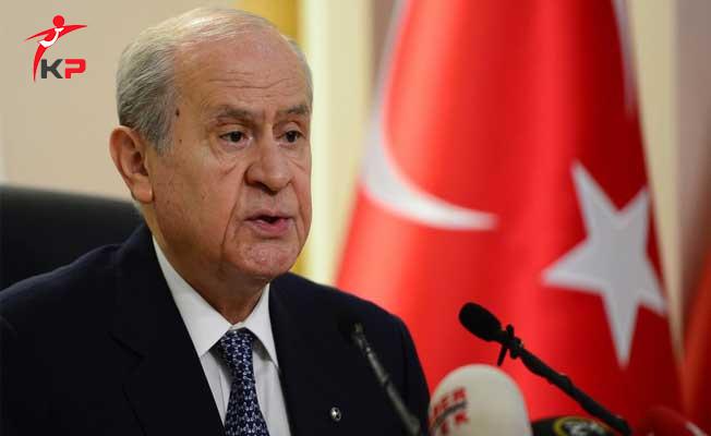 MHP Lideri Bahçeli: 25 Eylül Kürdistan Provasıdır