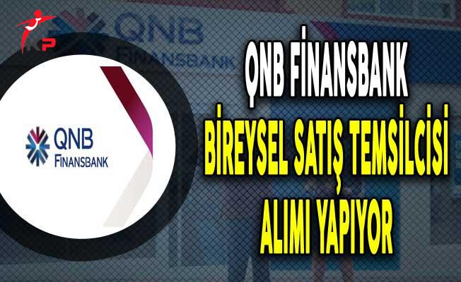QNB Finansbank En Az Lise Mezunu Satış Temsilcisi Alımı Yapıyor