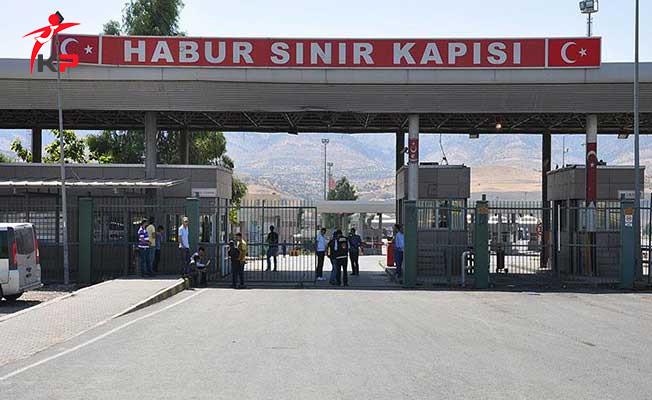 Son Dakika: Habur Sınır Kapısı Tek Taraflı Kapatıldı