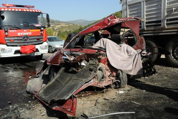 Tokat'ta Feci Kaza: 1 Ölü, 7 Yaralı