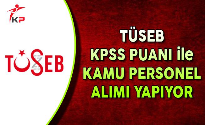 Türkiye Sağlık Enstitüleri Başkanlığı Kamu Personel Alımı Yapıyor