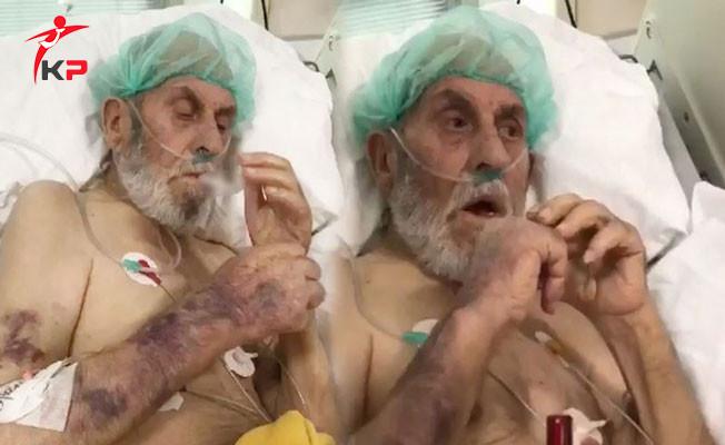 Yoğun Bakımda Skandal ! Hemşireler Hastaya Sigara Verip Eğlendiler
