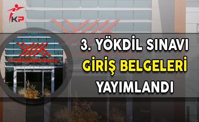 3. YÖKDİL Sınavı Giriş Belgeleri Anadolu Üniversitesi Tarafından Yayımlandı