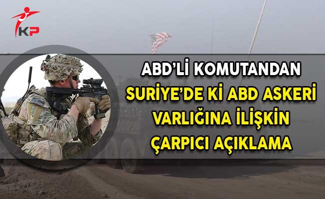 ABD'li Komutandan PKK/PYD Gafı!