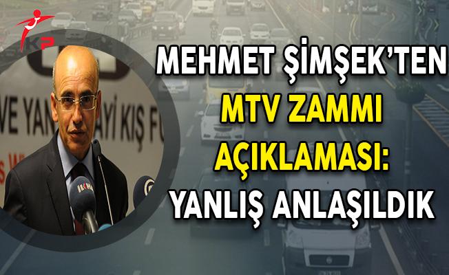 Başbakan Yardımcısı Şimşek'ten Son Dakika MTV Zammı Açıklaması
