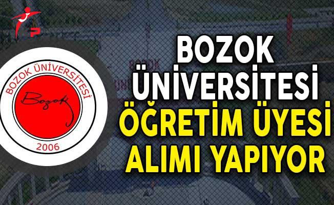 Bozok Üniversitesi Öğretim Üyesi Alımı Yapıyor