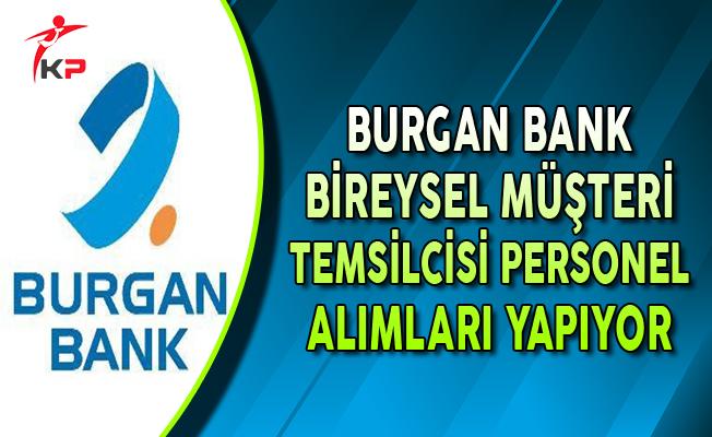Burgan Bank Bireysel Müşteri Temsilcisi Personel Alımları Yapıyor