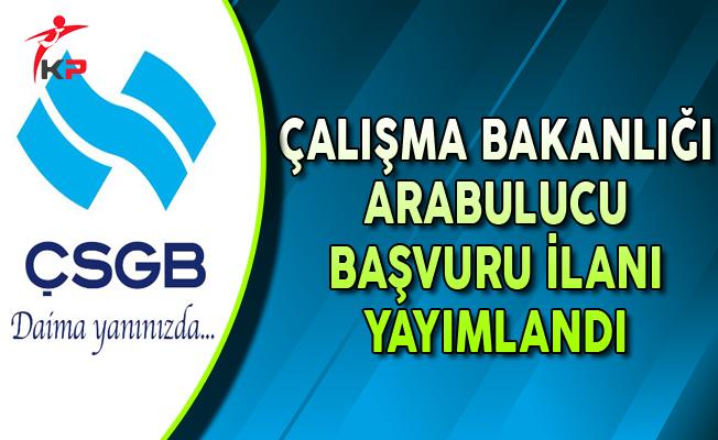 Çalışma Bakanlığı (ÇSGB) Arabulucu Başvuru İlanı Yayımlandı