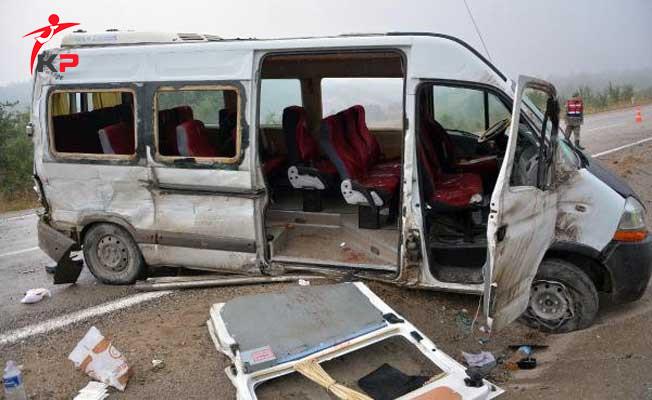 Karabük'te Kötü Hava Şartları Kazaya Neden Oldu ! Çok Sayıda Yaralı Var