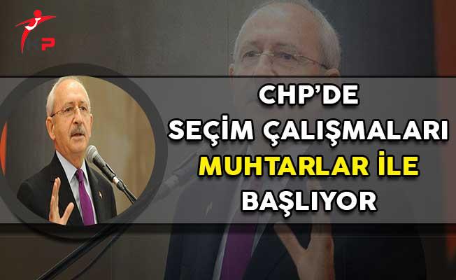 Kılıçdaroğlu'nun Talimatının Ardından Seçim Çalışmaları Başladı