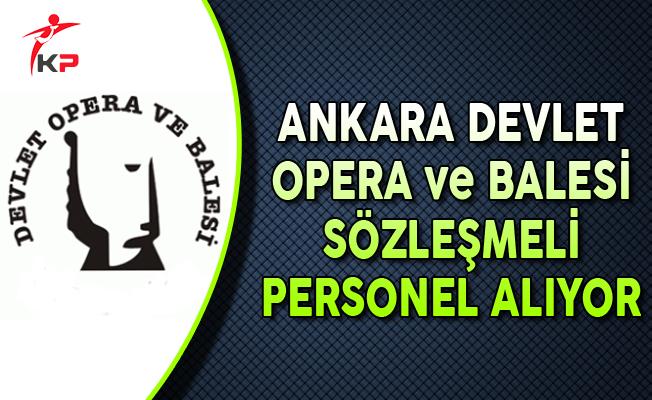 Kültür ve Turizm Bakanlığı Ankara DOB Sözleşmeli Personel Alıyor