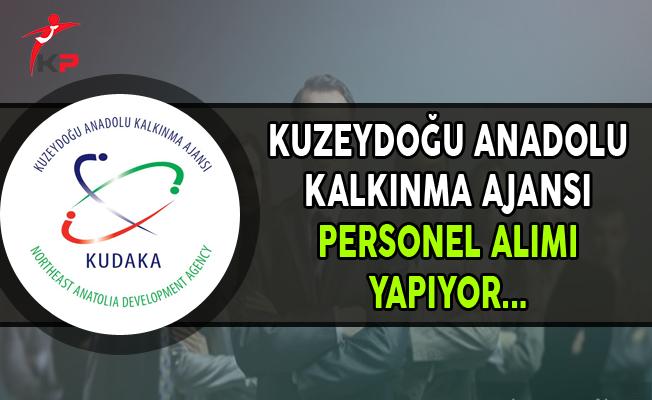 Kuzeydoğu Anadolu Kalkınma Ajansı Personel Alımı Yapıyor