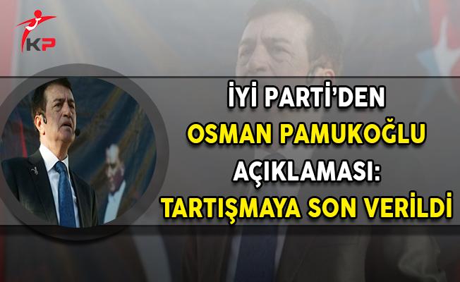 Meral Akşener'in Yeni Partisi İyi Parti'den Osman Pamukoğlu Açıklaması