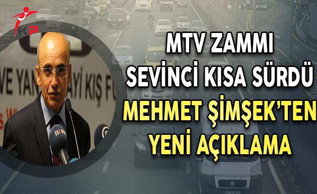 MTV Zammı Sevinci Kısa Sürdü ! Başbakan Yardımcısı'ndan Yeni Açıklama