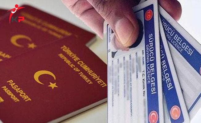 Pasaport ve Ehliyet İşlemlerinin Devir Süresi Uzatıldı