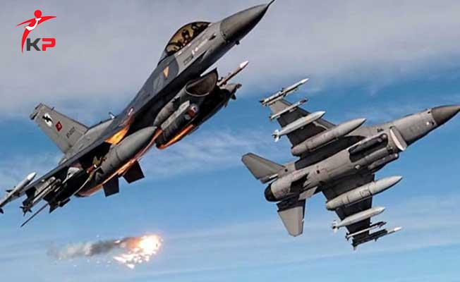Türk Silahlı Kuvvetlerinden Zap Bölgesine Bir Hava Harekatı Daha