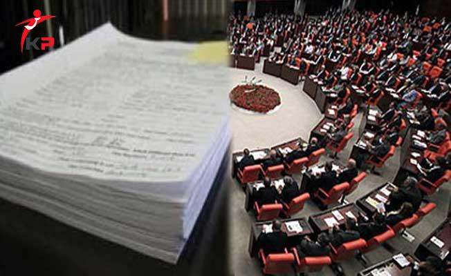 Vergilerle İlgili TBMM'ye Sunulan Kanun Tasarısının Tam Metni