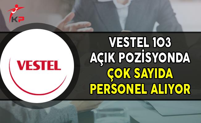 Vestel 103 Açık Pozisyon İçin Personel Alımları Yapıyor
