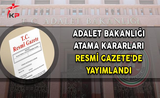 17 Kasım 2017 Tarihli Atama Kararları Resmi Gazete'de Yayımlandı
