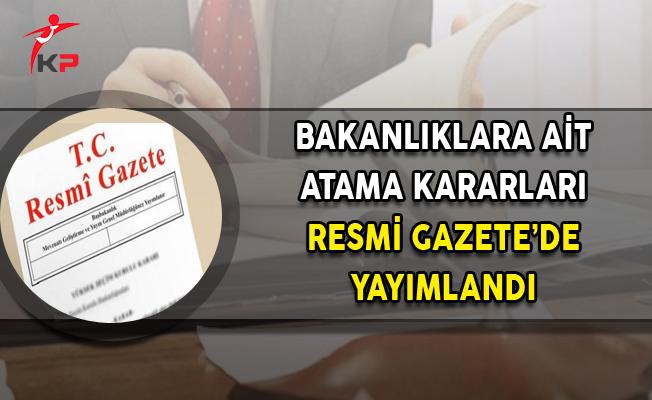 21 Kasım 2017 Tarihli Atama Kararları Resmi Gazete'de Yayımlandı