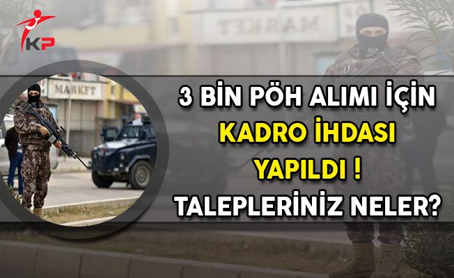 3 Bin Polis Özel Harekat Alımı İçin Kadro İhdası Yapıldı ! Talepleriniz Neler?