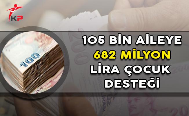 Aile Bakanlığından 682 Milyon Lira 'Çocuk Desteği'