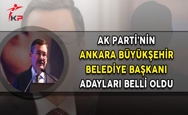 AK Parti'nin Ankara Büyükşehir Belediye Başkanı Adayları Belli Oldu