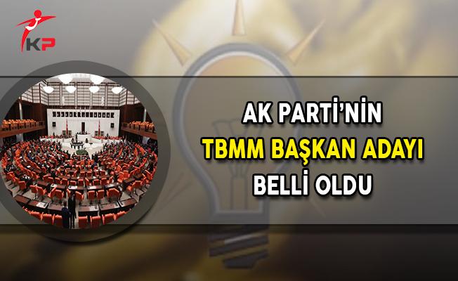 AK Parti'nin TBMM Başkan Adayı Belli Oldu !
