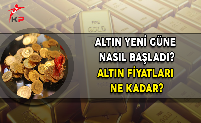 Altın Fiyatlarında Son Durum! Altın Ne Kadar Oldu? Çeyrek Altın Ne Kadar?