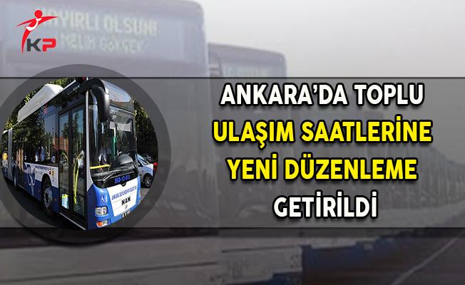 Ankara'da 24 Saat Ulaşım Dönemi Başlıyor