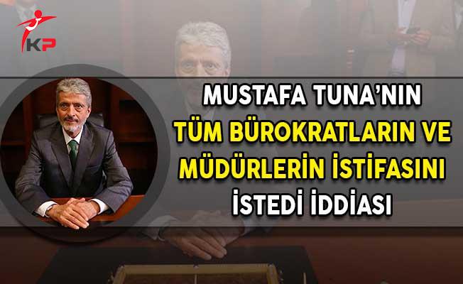 Ankara'nın Yeni Belediye Başkanı Tuna'nın Tüm Müdürlerin ve Bürokratların İstifasını İstediği İddia Edildi!