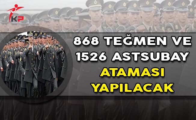 Bakan Canikli Açıkladı ! 868 Teğmen ve 1526 Astsubay Ataması Yapılacak