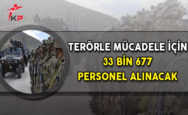 Bakan Soylu Müjdeledi: Terörle Mücadele İçin 33 Bin 677 Personel Alınacak