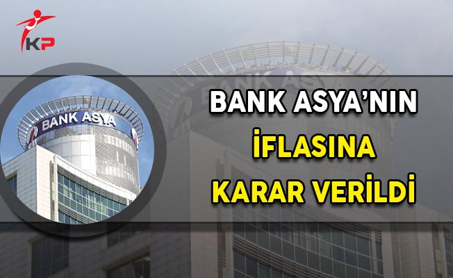 Bank Asya İflas Etti